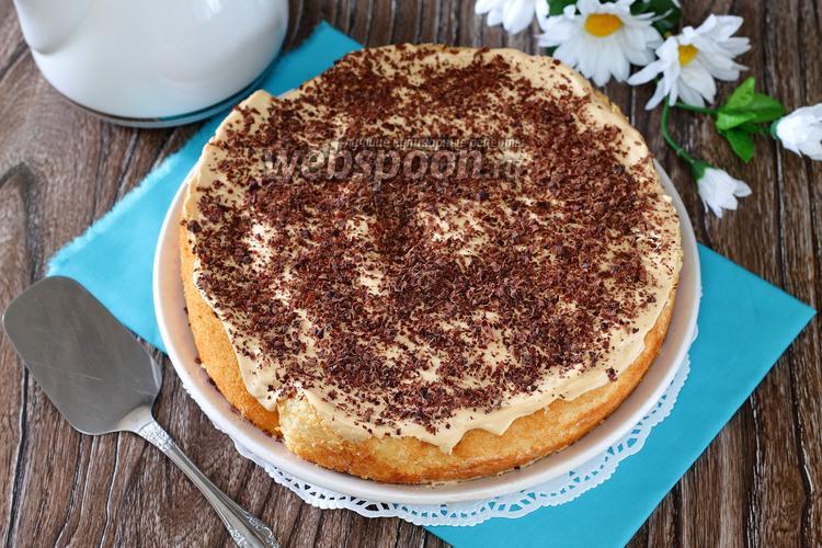 Рецепт Торт «Нежность» с крем-брюле