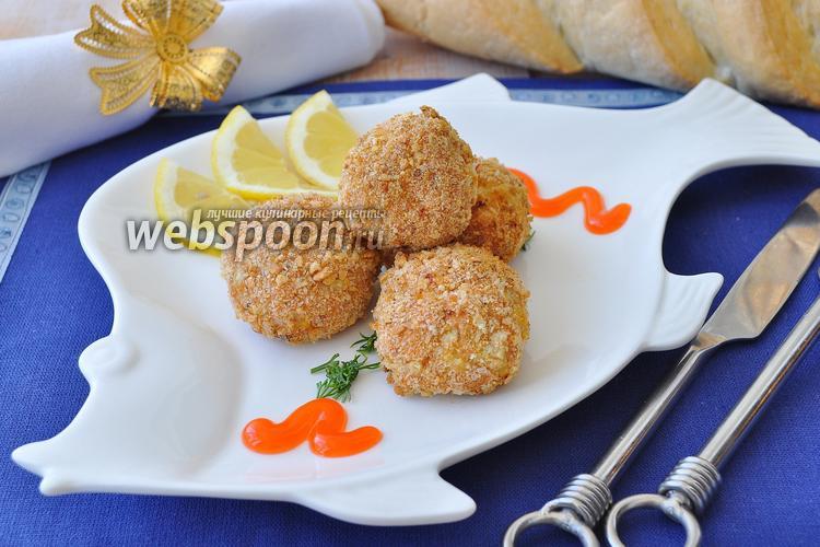 Рецепт Крокеты рыбные из кижуча