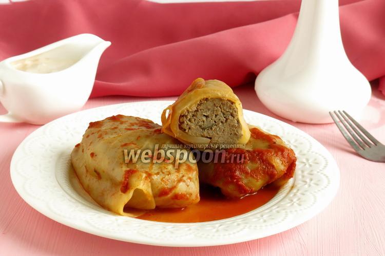 Рецепт Голубцы с печенью и кускусом