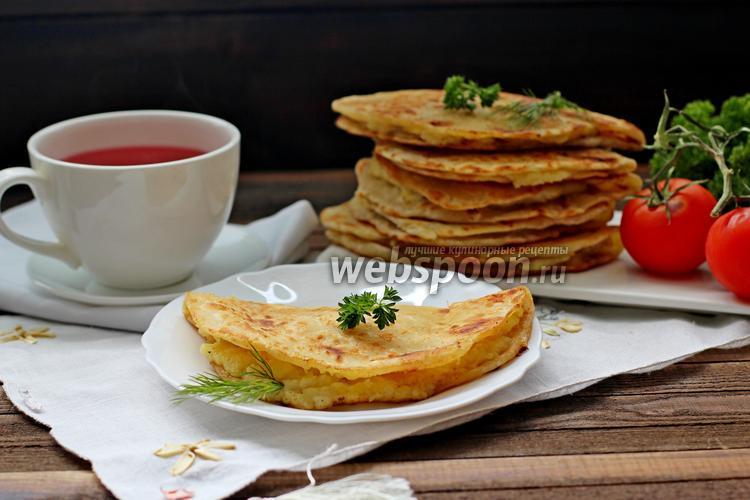 Рецепт Кыстыбый с картофелем