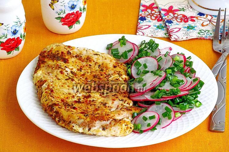 Рецепт Сочное куриное филе