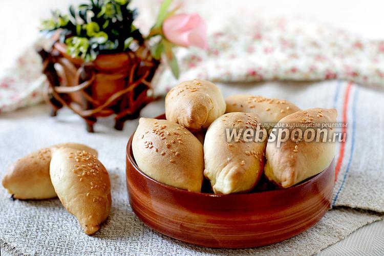 Рецепт Пирожки на кислом молоке с капустой и фаршем