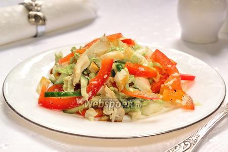 Салат с угрём