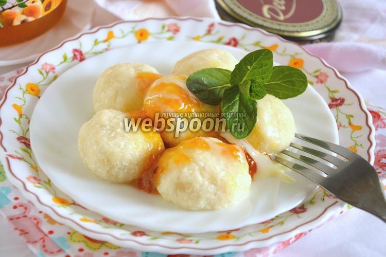 Рецепт Ленивые вареники с манкой