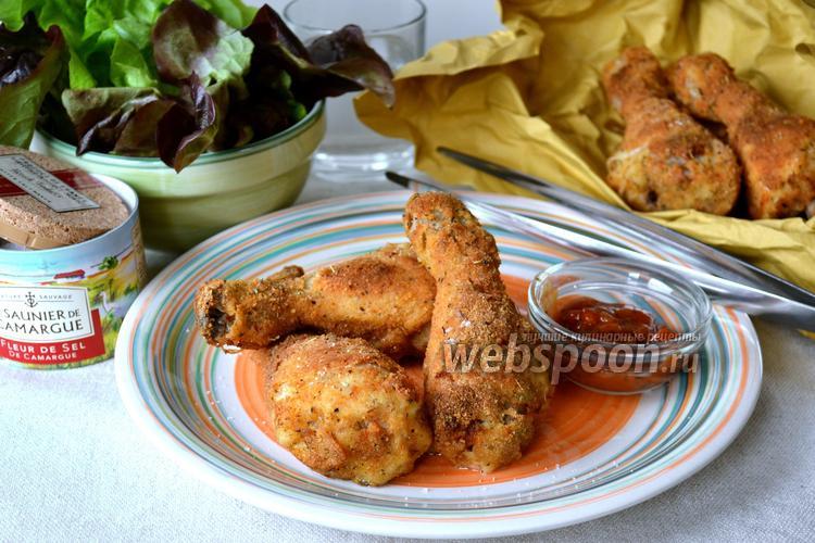 Рецепт Куриные ножки в панировке