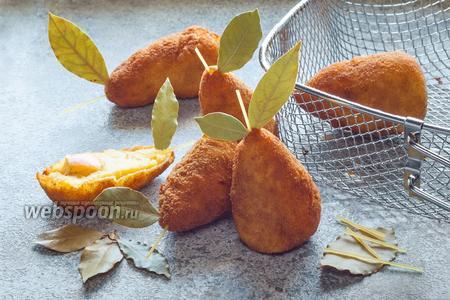 Картофельные крокеты «Груши»