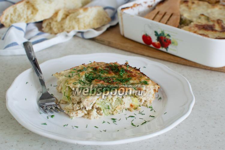 Рецепт Запеканка с цветной капустой и курицей