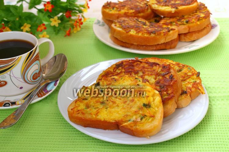 Рецепт Гренки с картофелем