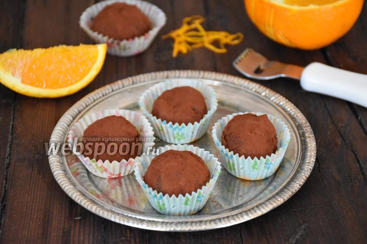 Фото Шоколадные трюфели с кардамоном