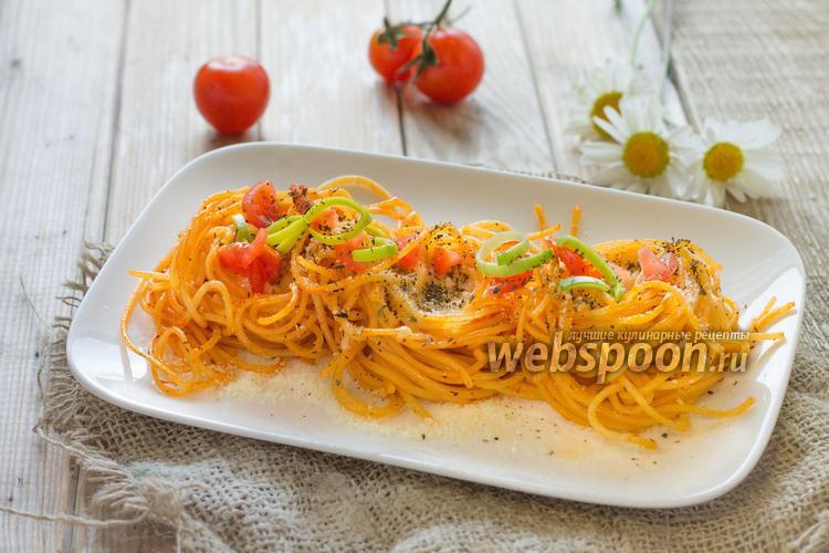 Рецепт «Гнёздышки» из пасты по-итальянски