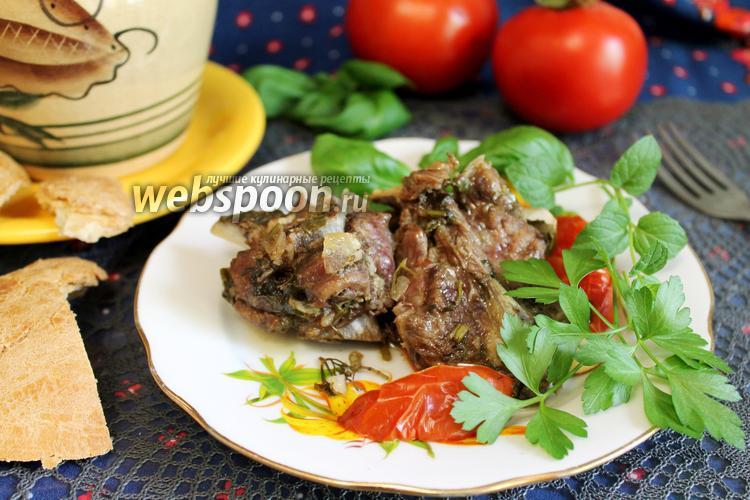 Рецепт Баранина в собственном соку в горшочках