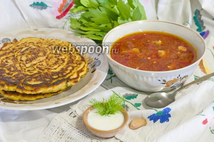 Рецепт Борщ украинский классический