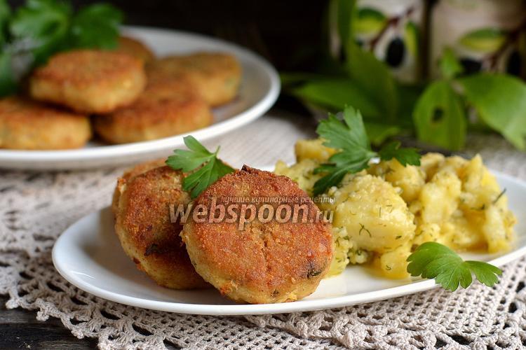 Рецепт Котлеты рыбные с салом
