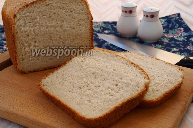 Рецепт Хлеб на сыворотке с овсяными хлопьями и смальцем в хлебопечке
