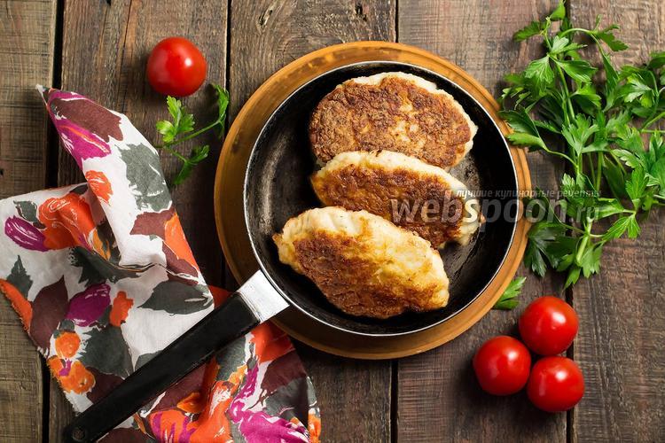 Рецепт Куриные котлеты с капустой