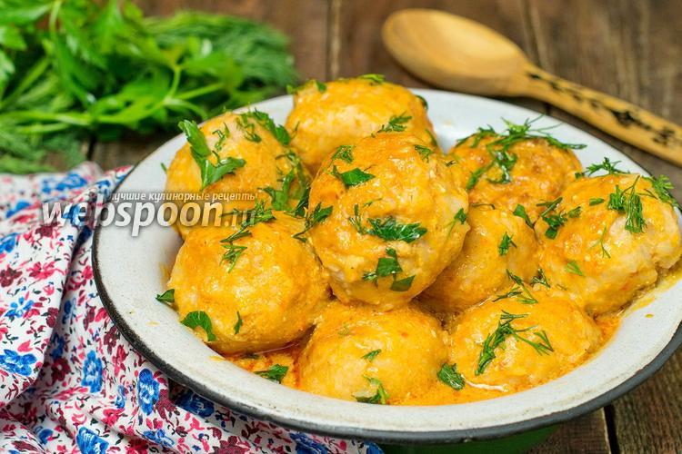 Рецепт Тефтели в томатном соусе в мультиварке