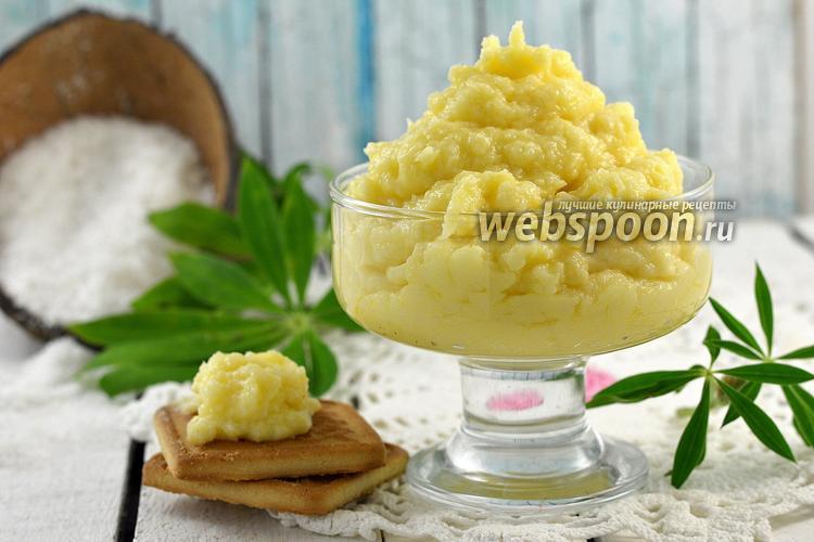 Рецепт Заварной кокосовый крем