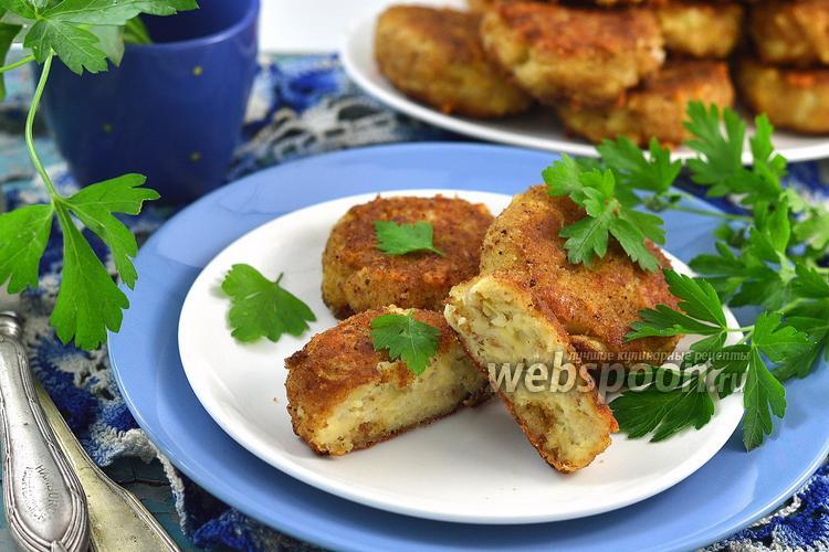Рецепт Котлеты рыбные с сыром