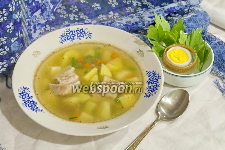 Рецепт Суп гороховый со свининой