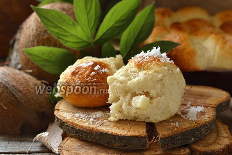 Рецепт Кокосово-ананасовые пирожки