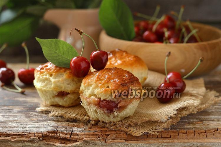 Рецепт Булочки с черешнями
