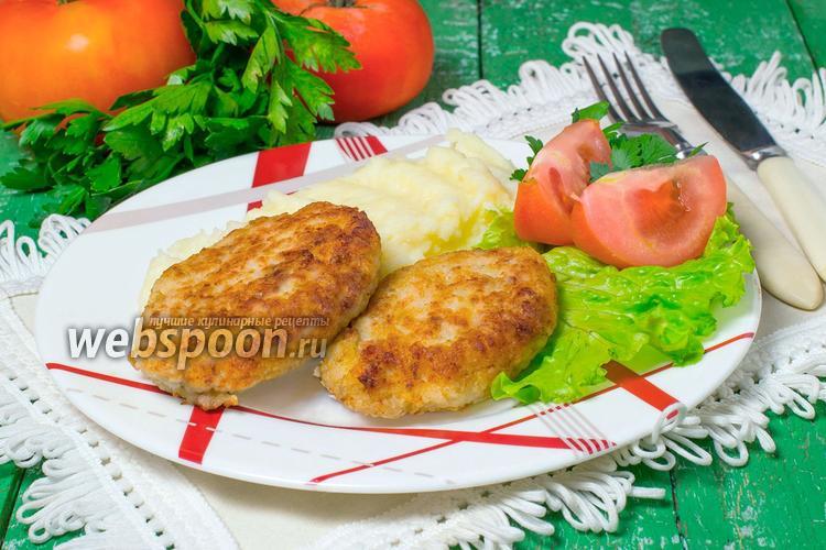Рецепт Котлеты рыбные из минтая
