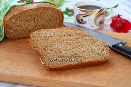 Ржаной хлеб с кофейным ароматом в хлебопечке
