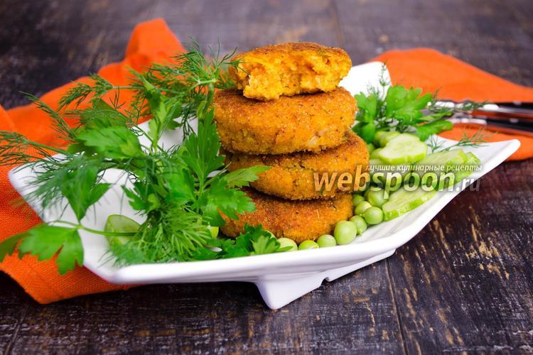 Рецепт Котлеты из тыквы с картофелем