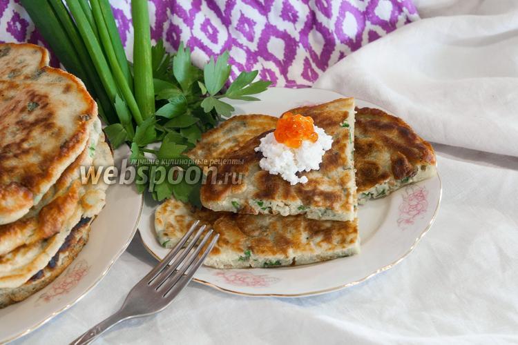 Фото Перепичка с зелёным луком и солёной треской