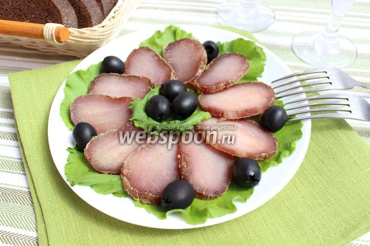Рецепт Балык из свинины