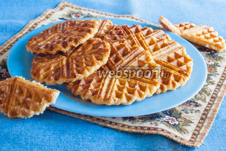 Рецепт Бельгийские вафли «Льежские»
