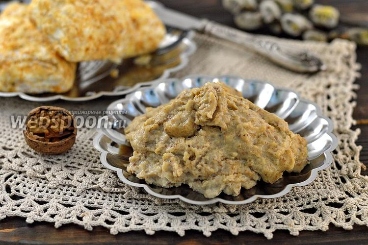 Рецепт Заварной ореховый крем без масла