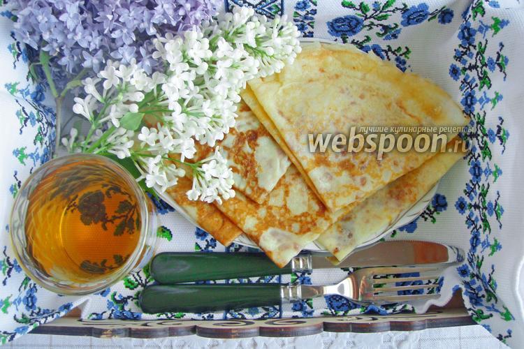 Рецепт Блины на лимонаде