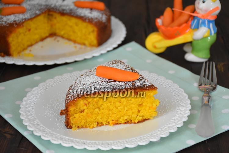 Рецепт Морковно-кокосовый пирог