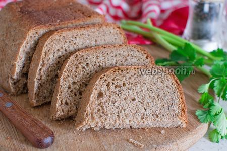 Пшенично-ржаной хлеб с йогуртом в хлебопечке