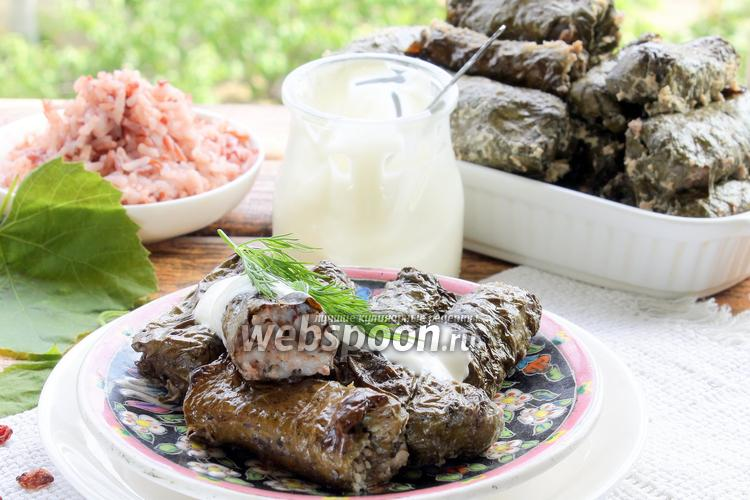 Рецепт Долма с красным рисом и барбарисом