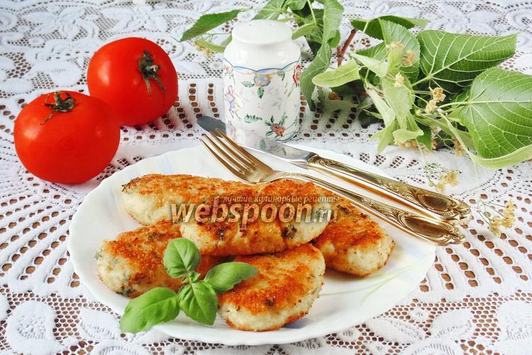 Рецепт Котлеты куриные с рисом