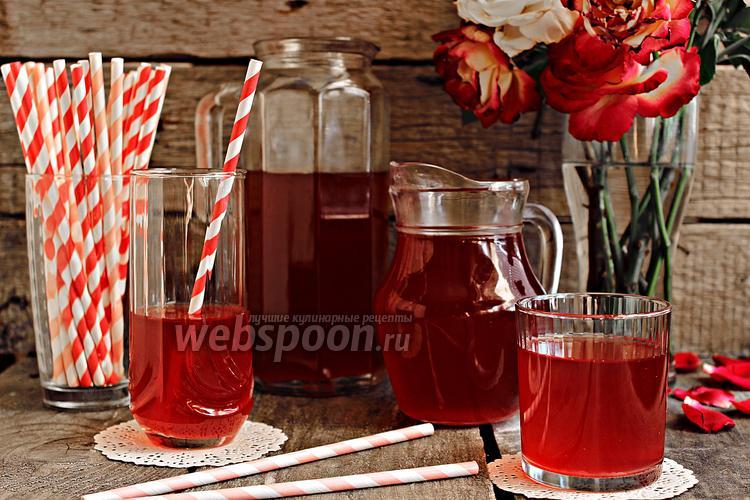 Рецепт Холодный чай с ревенем и мятой