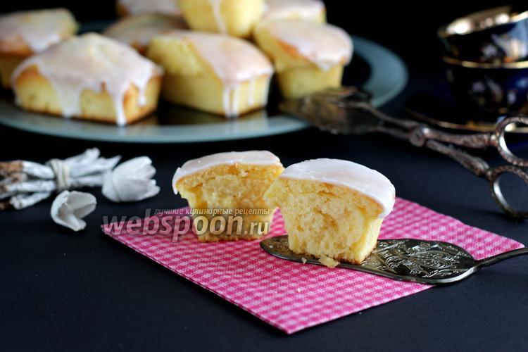 Рецепт Творожно-лимонные кексы