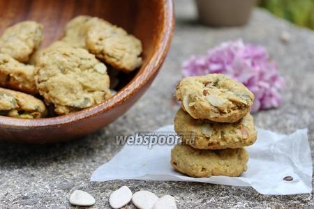 Печенье с авокадо