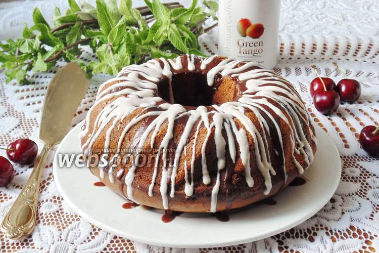 Рецепт Кекс с черешней и шоколадом
