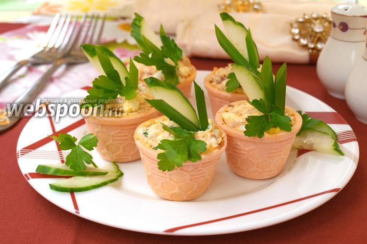 Рецепт Тарталетки с горбушей