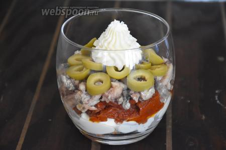 Поставить в холодильник на 1 час. Приятного аппетита!:))