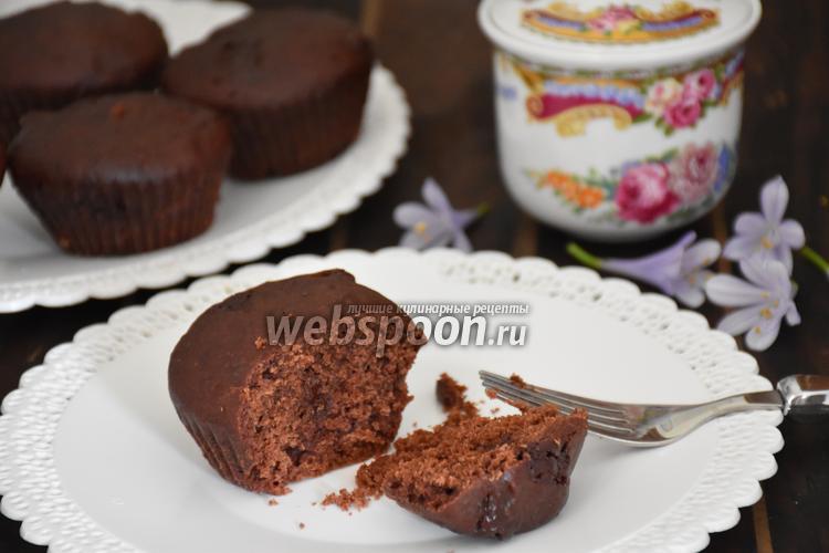 Фото Шоколадные маффины в мультиварке