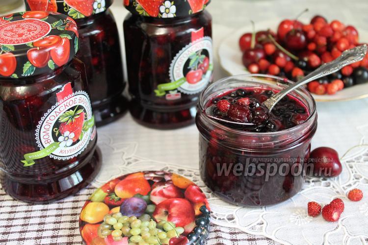Рецепт Желе-ассорти ягодное на зиму