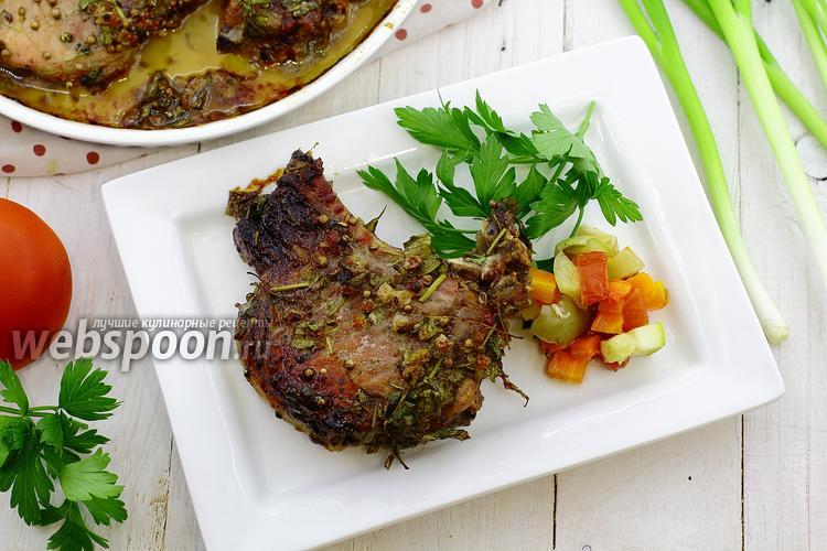 Рецепт Свинина в духовке, в маринаде из белой смородины