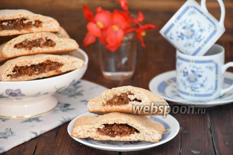 Рецепт Печенье с инжиром