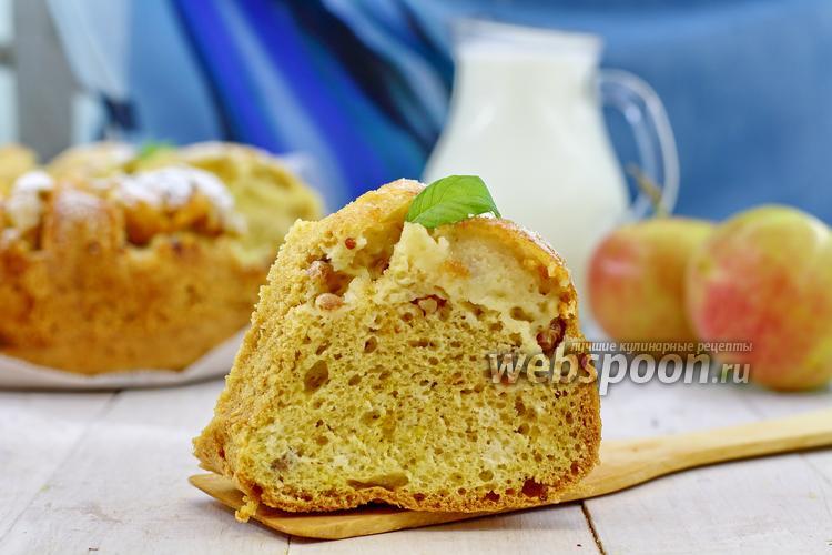Рецепт Лимонный пирог с белой смородиной и яблоком