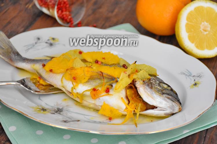 Рецепт Дорада под цитрусовым соусом
