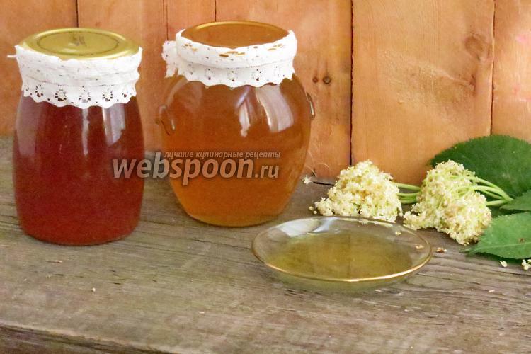 Рецепт Варенье из цветов бузины